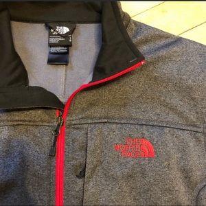 North Face Fleece Zip Large Jacket